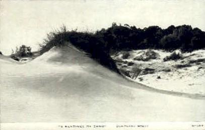 A Sentinel of Sand - Misc, Illinois IL Postcard