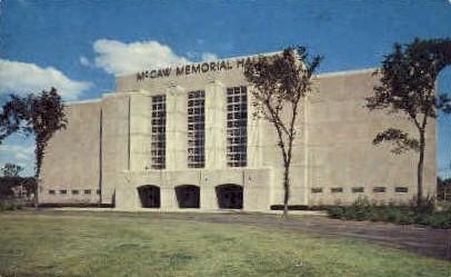 McGaw Memorial Hall - Evanston, Illinois IL Postcard