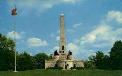 Abraham Lincoln Tomb - Springfield, Illinois IL Postcard