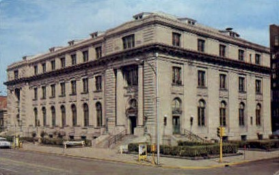 U.S. Post Office - Danville, Illinois IL Postcard