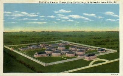 Illinois State Penitenitiary - Stateville Postcard