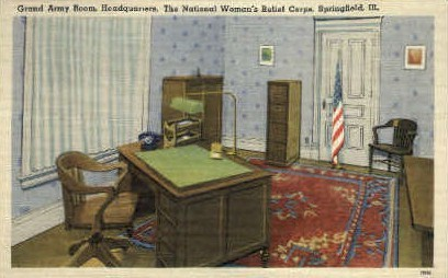 The National Woman's Reliief Corps - Springfield, Illinois IL Postcard