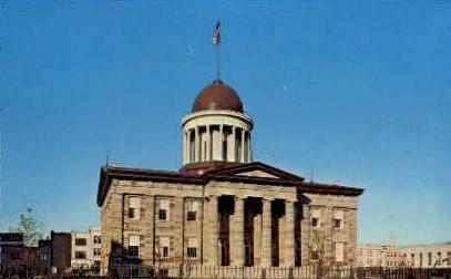 Old State Capitol - Springfield, Illinois IL Postcard