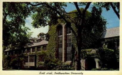 Northewestern University - Evanston, Illinois IL Postcard
