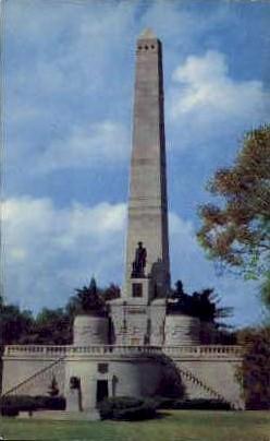 Lincoln's Tomb - Springfield, Illinois IL Postcard