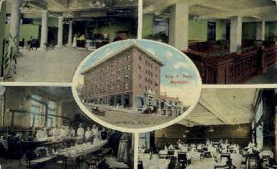 Illini Hotel - Alton, Illinois IL Postcard