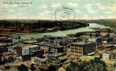 Aurora, Illinois, IL Postcard