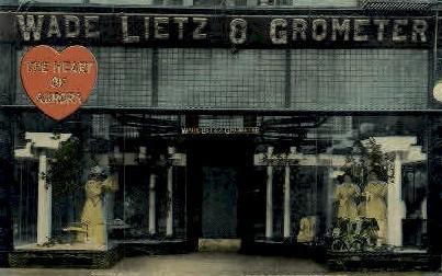 Wade Lietz & Grometer - Aurora, Illinois IL Postcard