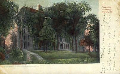 Jennings Seminary - Aurora, Illinois IL Postcard