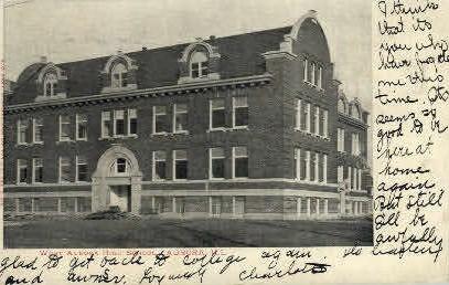 West Aurora High School - Illinois IL Postcard