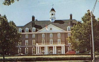 Illini Union Bldg., University of Illinois - Champaign Postcard