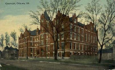Convent - Ottawa, Illinois IL Postcard
