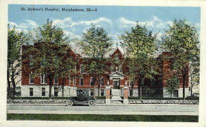 St. Andrews Hospital - Murphysboro, Illinois IL Postcard