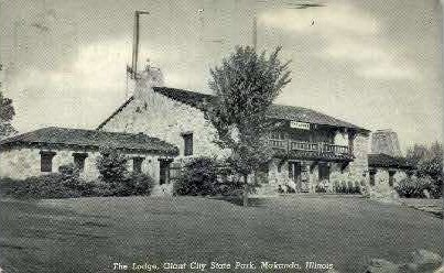The Lodge - Makanda, Illinois IL Postcard