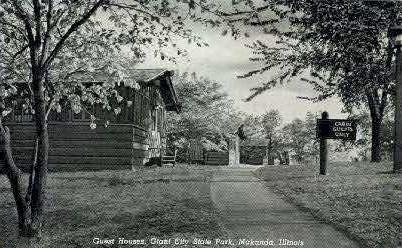 Guest Houses - Makanda, Illinois IL Postcard
