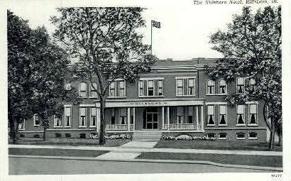 The Hillsboro Hotel - Illinois IL Postcard