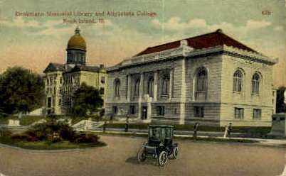 Augustana College - Rock Island, Illinois IL Postcard
