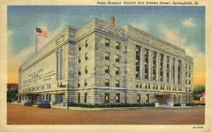 State Arsenal - Springfield, Illinois IL Postcard