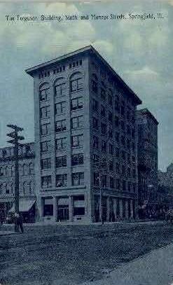 The Ferguson Bldg. - Springfield, Illinois IL Postcard