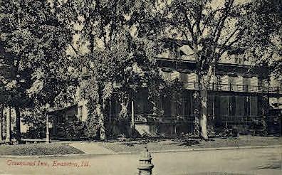 Greenwood Inn - Evanston, Illinois IL Postcard