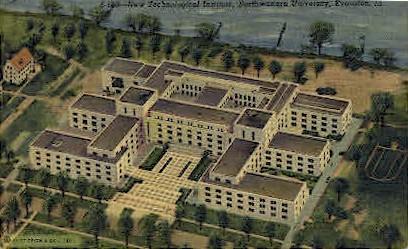 Northwester University - Evanston, Illinois IL Postcard