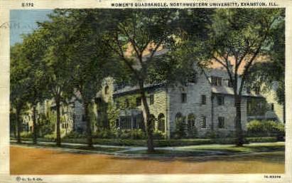 Northwestern University - Evanston, Illinois IL Postcard