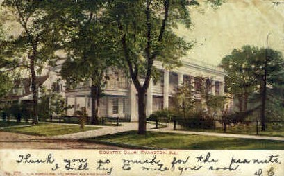 Country Club - Evanston, Illinois IL Postcard