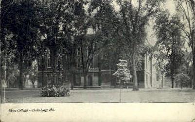 Knox College   - Galesburg, Illinois IL Postcard