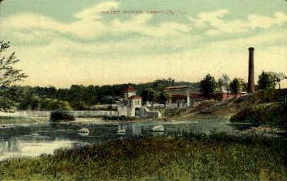 Water Works   - Danville, Illinois IL Postcard