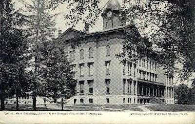 Illinois State Normal University Postcard