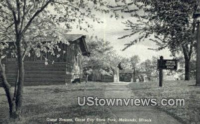 Giant City State Park - Makanda, Illinois IL Postcard