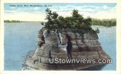 Tower Rock - Murphysboro, Illinois IL Postcard