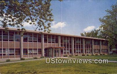 Charles B. Phillips Library - Aurora, Illinois IL Postcard