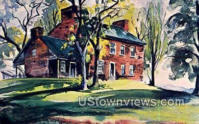 Claysville Stagecoach Stop - Springfield, Illinois IL Postcard