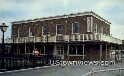 Museum, Pioneer Park - Aurora, Illinois IL Postcard