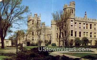 Old Castle - DeKalb, Illinois IL Postcard