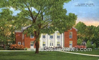 Illinois College - Jacksonville Postcard