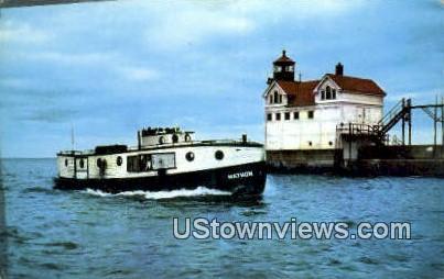 Mathon's - Waukegan, Illinois IL Postcard
