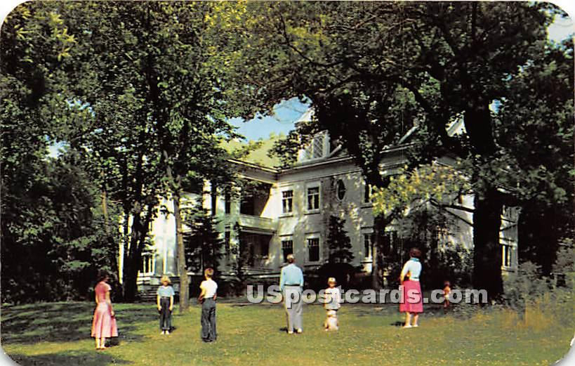 .Keith Country Day School - Rockford, Illinois IL Postcard