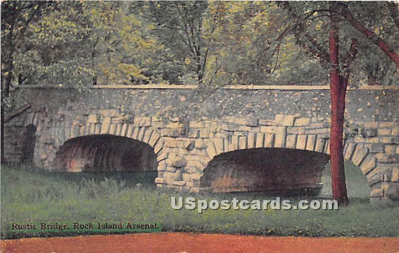 Rock Island Arsenal - Illinois IL Postcard
