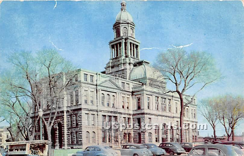 Rock Island County Courthouse - Illinois IL Postcard