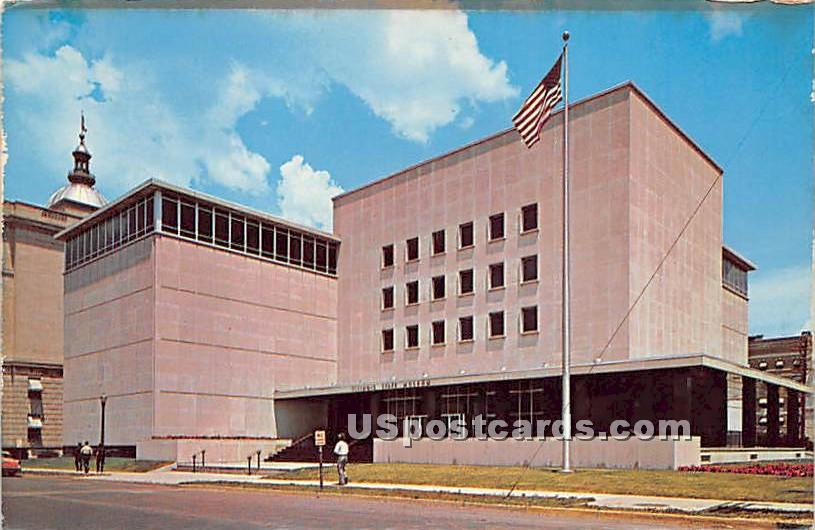 Illinois State Museum - Springfield Postcard