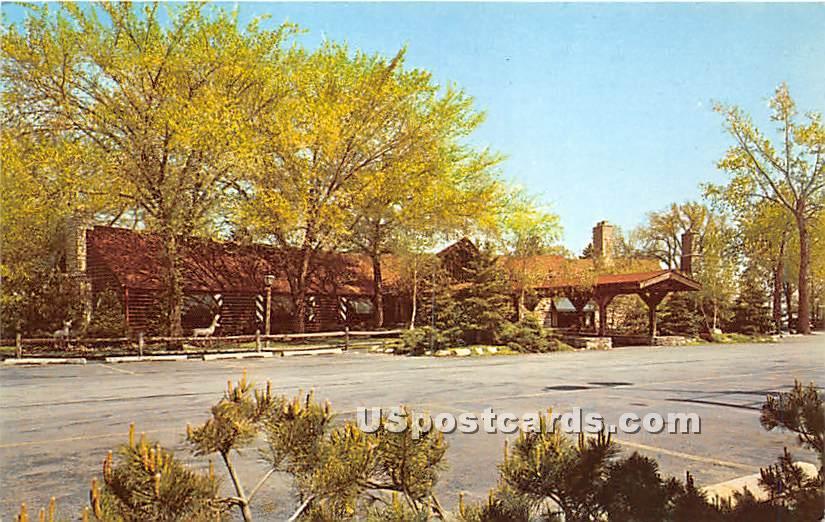 Elliott's Pine Log - Skokie, Illinois IL Postcard