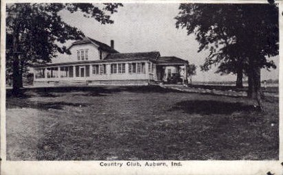 Country Club - Auburn, Indiana IN Postcard
