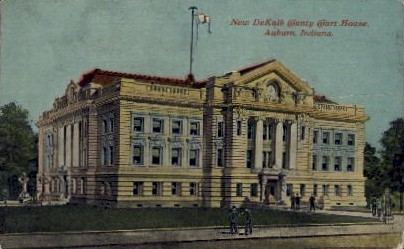 New DeKalb Country Court House - Auburn, Indiana IN Postcard
