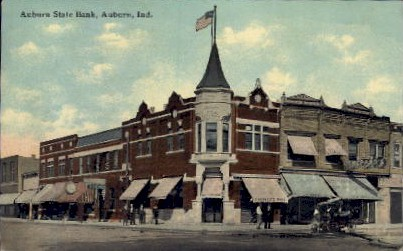 Auburn State Bank - Indiana IN Postcard