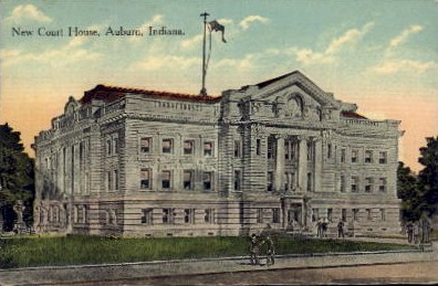 New Court House - Auburn, Indiana IN Postcard