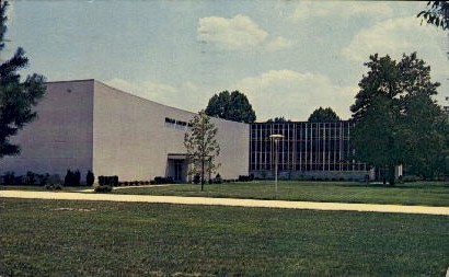 Fine Arts Center - Misc, Indiana IN Postcard
