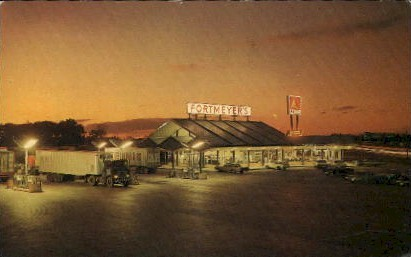 Fort Meyers Truck Stop, INC. - Fort Wayne, Indiana IN Postcard