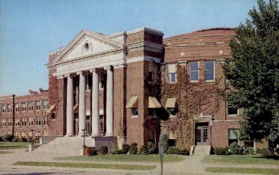 North Side High School - Fort Wayne, Indiana IN Postcard
